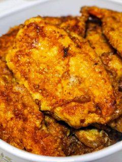 Easy Chicken Breast Schnitzel 1