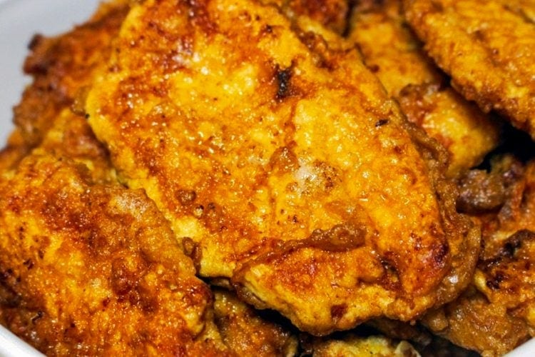 "Easy Chicken Breast ""Schnitzel"""