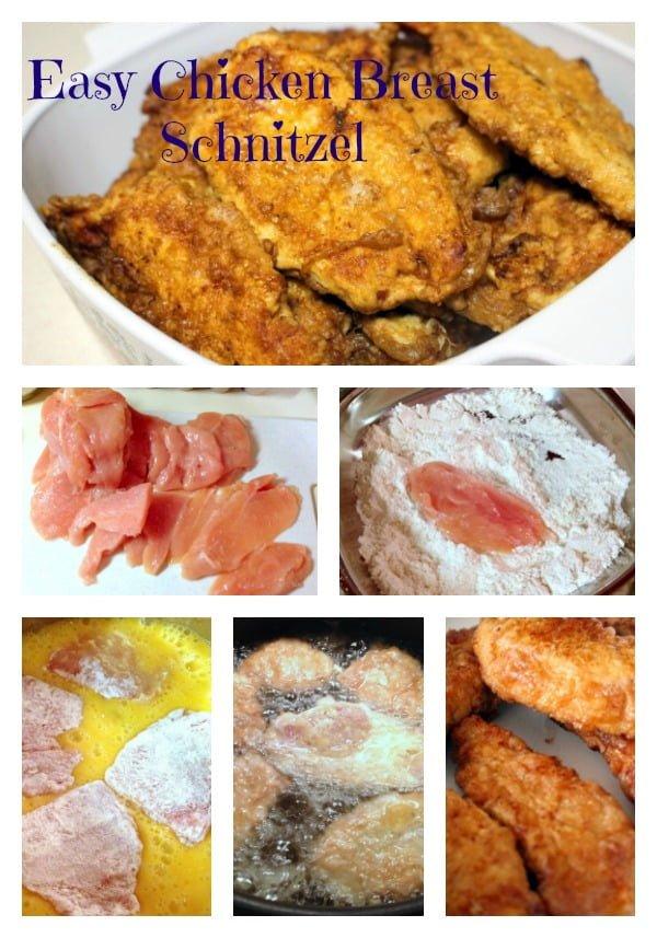 Easy Chicken Breast Schnitzel