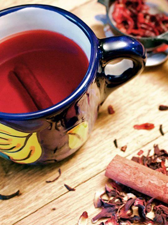 Hibiscus Cinnamon Tea Te De Jamaica Y Canela 2