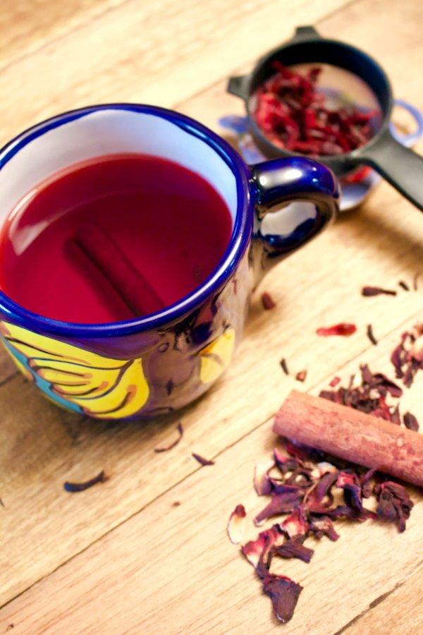 Hibiscus-Cinnamon Tea- Te De Jamaica Y Canela – The Bossy ...