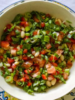 Mexican Pinto Bean Salad with Jalapeno pepper11