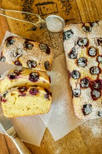Sour Cherries Sweet Cornbread