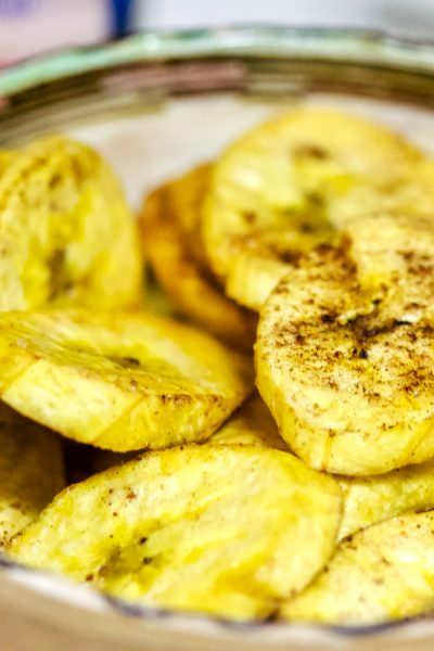Spiced Plantain Chips Recipe
