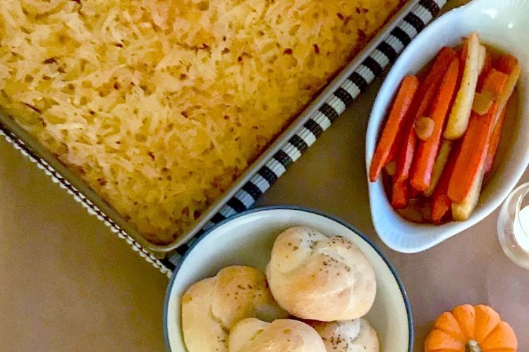 Traditional Cheesy Potatoes-A Holiday Favorite