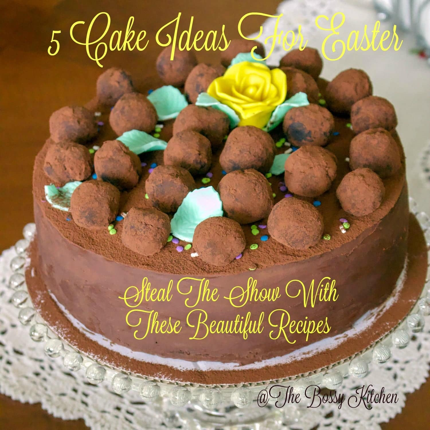 5 Cake Ideas For Easter- Steal the Show With These Beautiful Recipes- Go take a pick at this short list of recipes for cakes you could bake for this Easter. Easy recipes made from scratch that are delicious and great for this celebration.