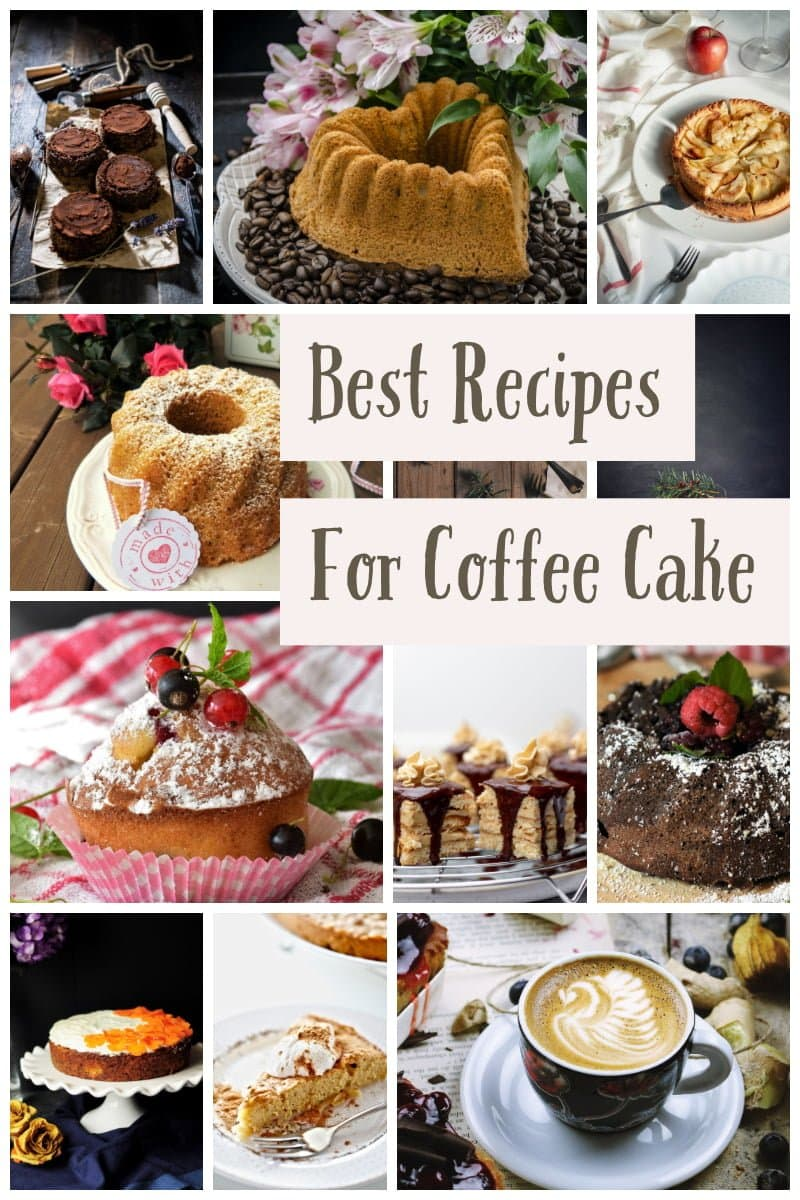Best Recipes For Coffee Cake- featured picture