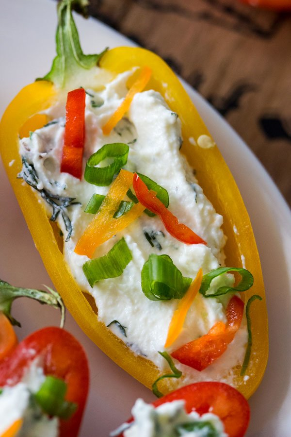 MINI PEPPERS STUFFED WITH FARMER CHEESE0