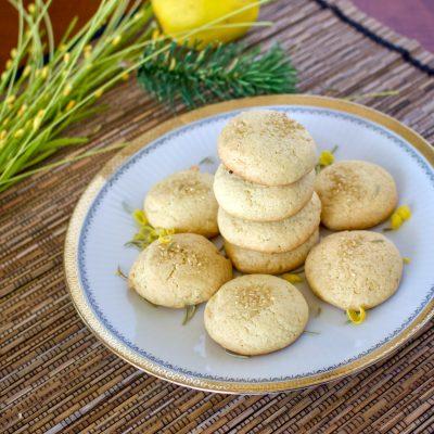 Olive Oil Lemon Cookies With Herbs