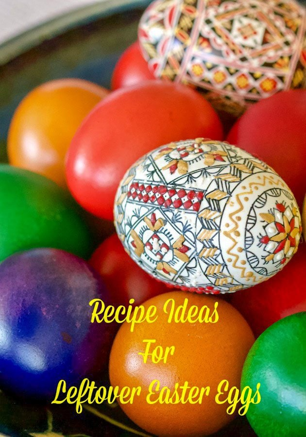 Featured picture for Pinterest- Easter eggs