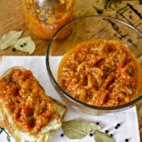 Romanian Vegetable Spread-Zacusca