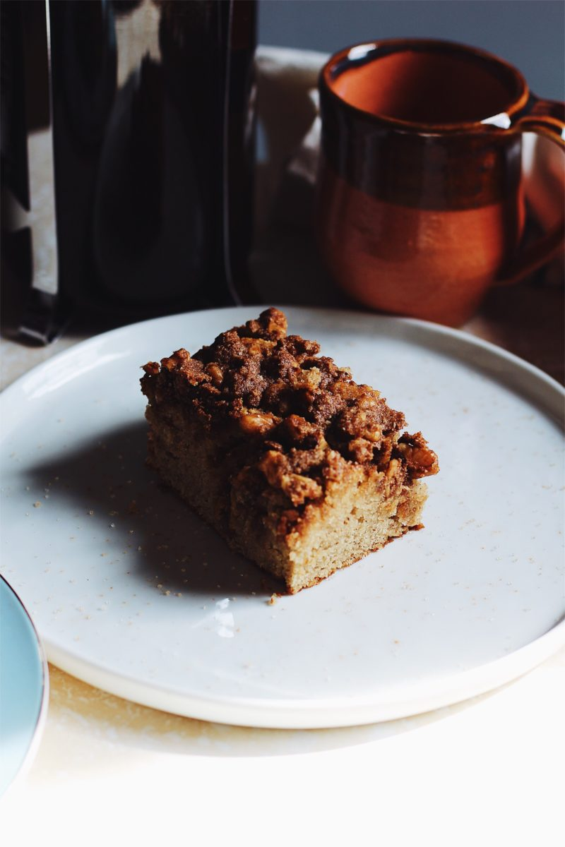 Maple Cinnamon Coffee Cake
