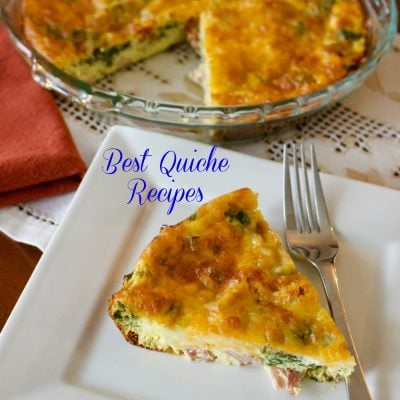 Best Quiche Recipes- National Quiche Lorraine Day