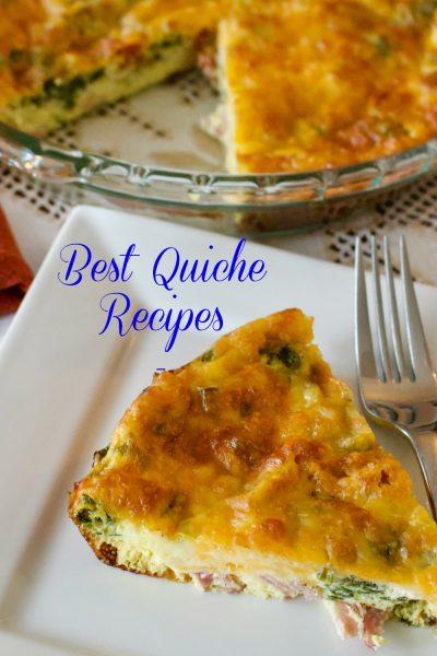 Best Quiche Recipes- National Quiche Lorraine Day