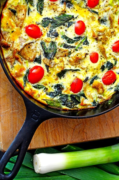 Try this cast iron quiche today!