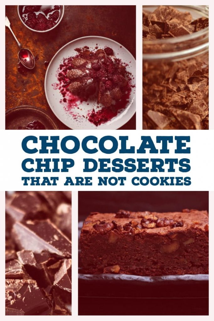 Chocolate Chip Desserts That Are Not Cookies- featured picture