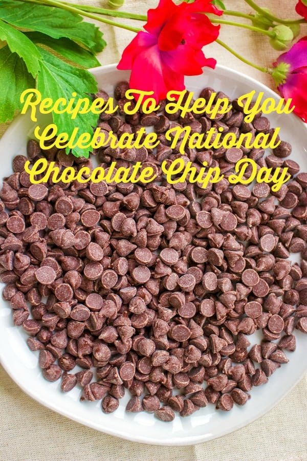 National Chocolate Chip Day is a day that is celebrated on May 15th. It is primarily an American holiday and no one really knows who started it. However, here you have a collection of recipes to help you celebrate National Chocolate Chip Day with all kind of baked goods that are NOT chocolate chip cookies. Enjoy!