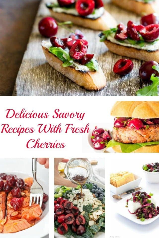 Delicious Savory Recipes With Fresh Cherries1