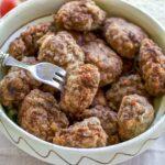 Romanian Meatballs Chiftele Recipe