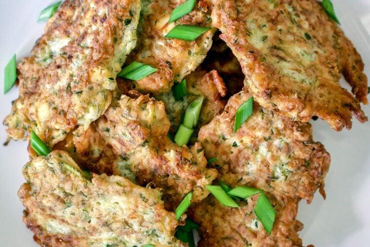 Zucchini  Cheese Patties