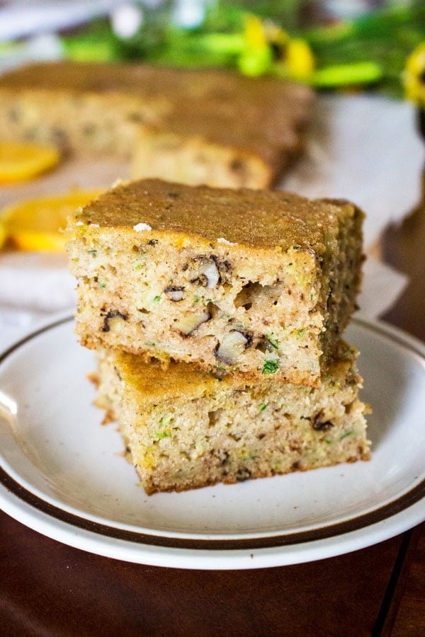 Zucchini Orange and Walnuts Cake33
