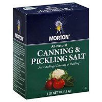 Morton Canning and Pickling Salt 4 Lb Box