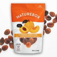 NatureBox Dried Apricots - Unsweetened, Unsulfured, Non-GMO - 4 Bags (7oz)