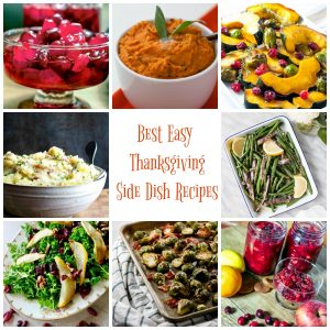 BEST EASY THANKSGIVING SIDE DISH RECIPES square