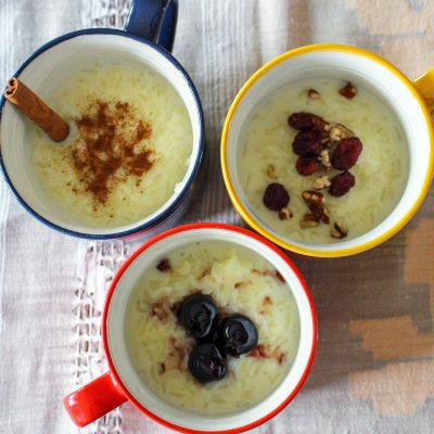 Classic Stove-Top Rice Pudding