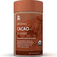 OMG! Superfoods Organic Cacao Powder - 100% Pure, USDA Certified Organic Cacao Powder – 8oz