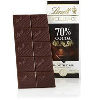 Lindt Excellence Bar, 70% Cocoa Smooth Dark Chocolate, Gluten Free, 3.5 Ounce (Pack of 12)