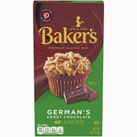 Baker's German's Sweet Chocolate Baking Bar, 4 Ounce