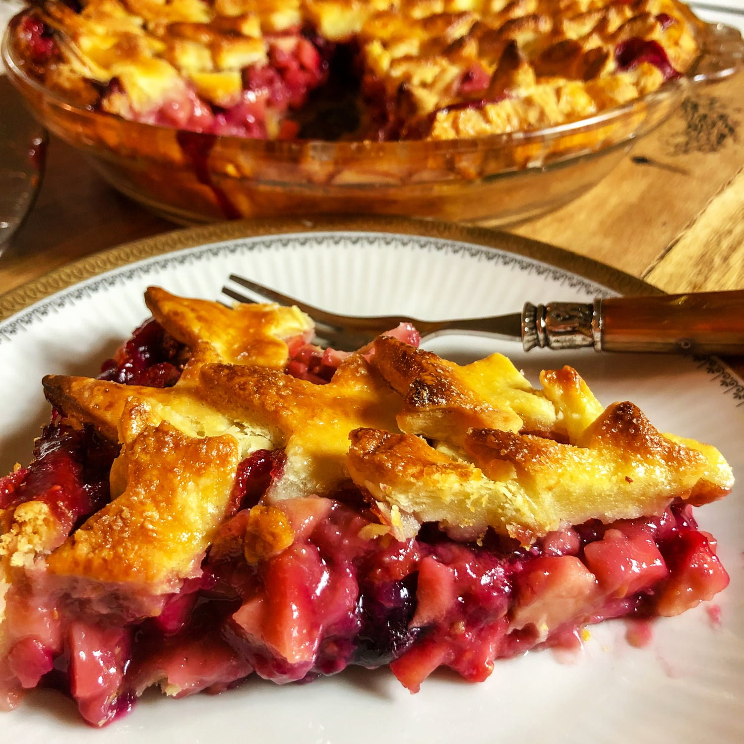 Apple And Berries Pie133