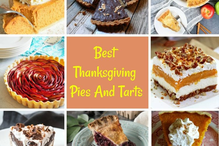 Best Thanksgiving Pies And Tarts