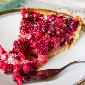 Cranberry Custard Pie With Cream Cheese Crust22