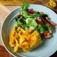 Easy Baked Pumpkin Mac And Cheese