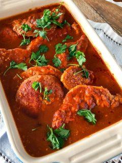 Roasted Pork In Garlic Tomato Sauce An Easy Dinner99