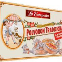 La Estepeña Polvoron Tradicional Calidad Suprema 250gr 2 Pack
