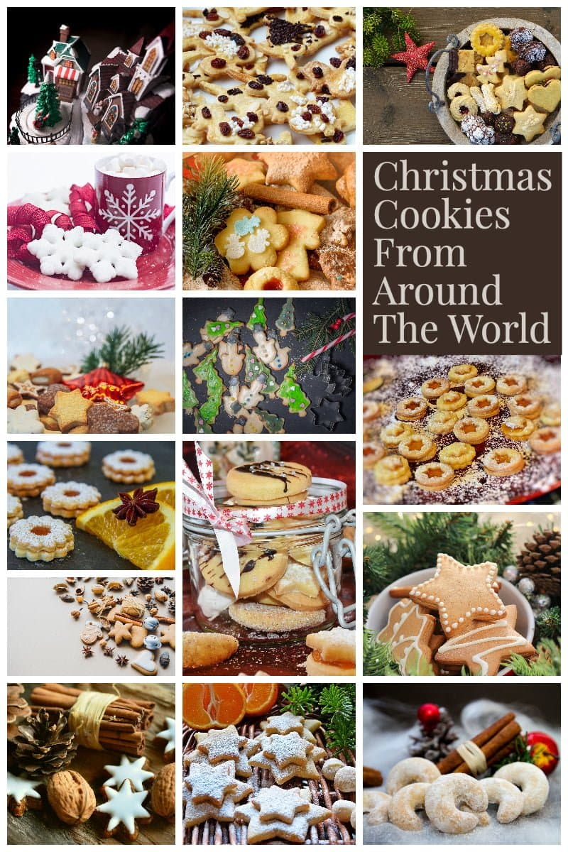 Christmas Cookies Bars From Around The World 1