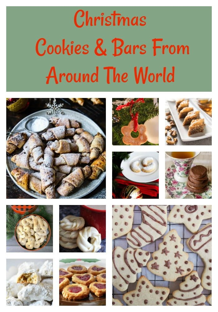 Christmas Cookies Bars From Around The World