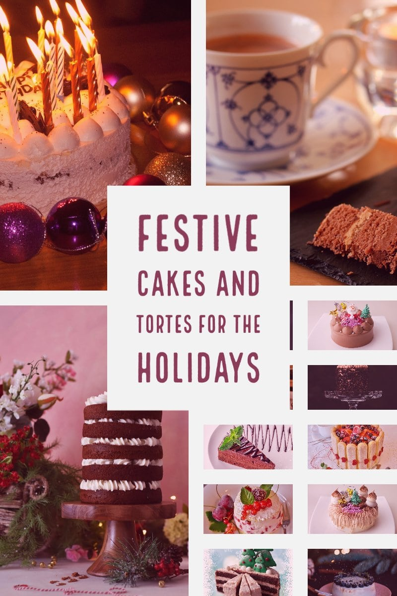 Festive Cakes And Tortes For The Holidays 1