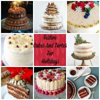 This is a collection of 17 Festive Cakes And Tortes For The Holidays from around the web. This collection will give you the opportunity to bake delicious recipes for Christmas, New Years Eve parties or anything in between.