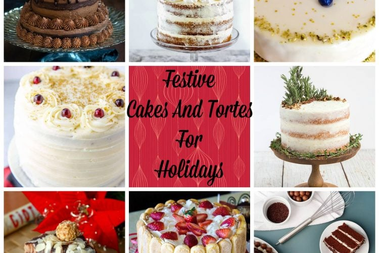 Festive Cakes And Tortes For The Holidays