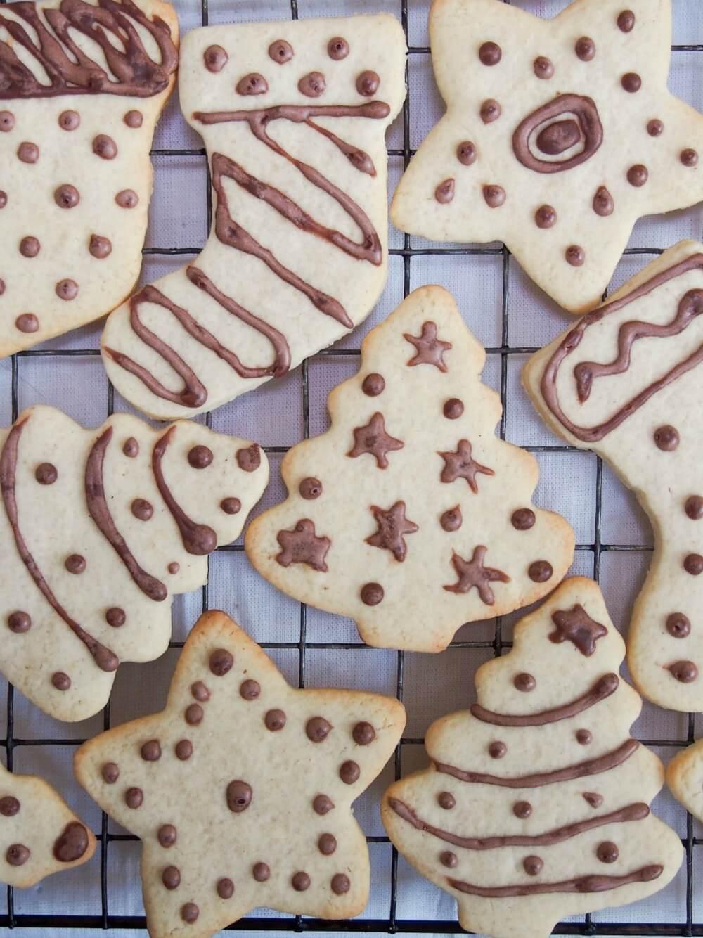 German ginger cookies (ingwerplätchen)