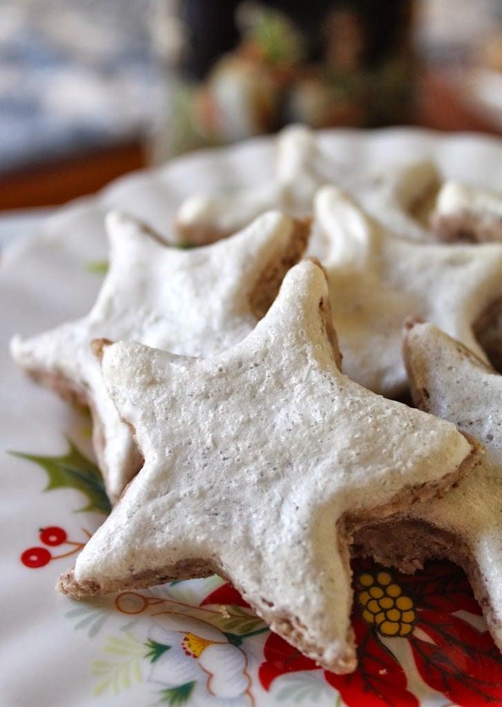 Zimtsterne, German Cinnamon Stars
