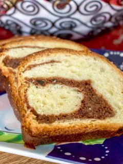 Romanian Traditional Sweet Bread With Walnuts Cozonac1313