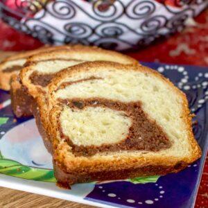 Romanian Traditional Sweet Bread With Walnuts Cozonac1313