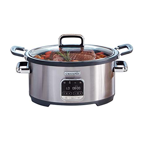 Crock-Pot SCCPVMC63-SJ 3-in-1 Multi-Cooker, Stainless Steel