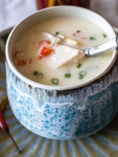 Chicken Soup With Sour Cream And Garlic44