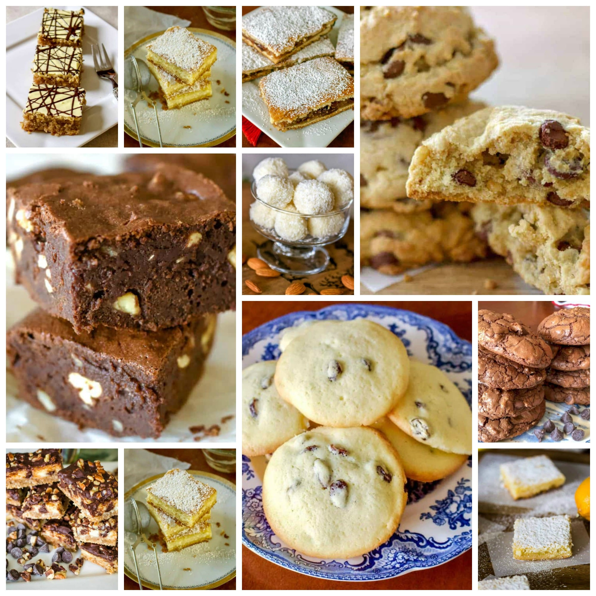 Super Bowl Dessert Idea Recipes- a collection of dessert recipes for the biggest sport event of the year.